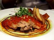 Flying Pan, Eunhaeng-dong - Pork Chops (I think)... I forgot. Pretty Meat Dish.