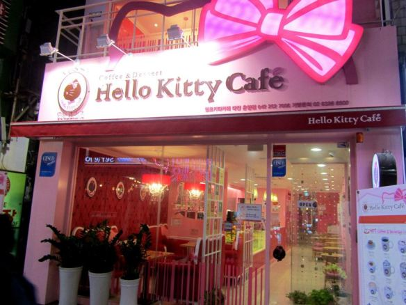 Hello Kitty Cafe, Storefront!